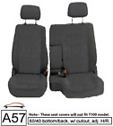 6040 Split Bench Seat Cover Detachable Headrest Custom Exact Fit For Pickup