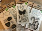 Hero Art LOT Stamp  Cuts Clear Stamps w matching Die cuts to choose from