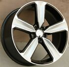 SET4 20 20X9 5X112 WHEELS FIT NEW RS STYLE AUDI A4 S4 A5 A6 A7 Q5 RS4 RS6 Q3