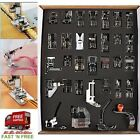 32 Pcs Feet Sewing Machine Tool Accessories Set Presser Foot Brother Singer Dome