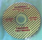 Teaching Textbook Algebra 1 Lecture  Practice CD 51 90