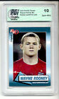 2004 Wayne Rooney Rookie Review PGI 10 1st CARD EVER Manchester United