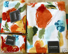 ROUGE POPPY FLOWERS LUXURY 100% COTTON VELOUR 3PC BATH TOWEL SET BY KASSA FINA