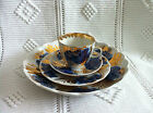 RUSSIAN IMPERIAL LOMONOSOV GOLDEN GARDEN COFFEESET FOR SIX PERSONS 19 PIECES