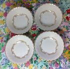 4- SYRACUSE  BAROQUE GRAY Berry-Fruit-Sauce Bowls ~  ~ circa 1950-1967