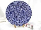 Queen's Calico Chintz Blue Dinner Plate 10 3/4