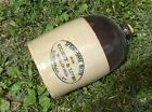 Rare WHALLEN BROS Saloon WHISKEY JUG - Spring-BANK WATER Cure - Super EXAMPLE !!