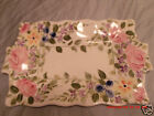 Tabletops Unlimited *MARIAM'S GARDEN*Hand Painted 18