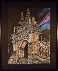 Brian Miller: Hollywood Theater (original acrylic on paper, matted and framed)