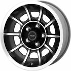 15 15x85 American Racing Vector 5x1143 +6mm Gunmetal Wheels Rims