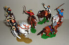Mounted COWBOYS ARGENTINA DSG Plastic Toy Soldiers set Britains Far West