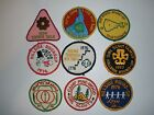 9 Vintage 1970s Girl Scouts Patches Badges Lot