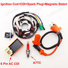 Ignition Coil CDI Spark Plug Magneto Stator For GY6 125cc 150cc Moped Scooter