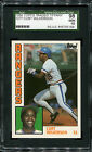 1984 Topps Traded Tiffany #127T Curt Wilkerson SGC 10