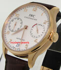 IWC Portuguese 7 Day Power Reserve 18K RG IW500113 !