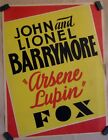 Lionel Barrymore  - Original 1932 Placard