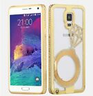 Luxury Diamond crystal Metal Bumper phone case for iPhone5 6 6+ Samsung N3 S4 S5