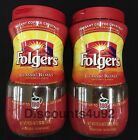 Folgers Classic Roast Instant Coffee Crystals, 2 jars make 180 cups each, FRESH