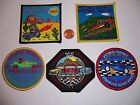 5 ROYAL RANGERS PATCHES PINEWOOD DERBY POTOMAC TIDEWATER EASTERN