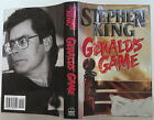 STEPHEN KING Geralds Game INSCRIBED FIRST EDITION
