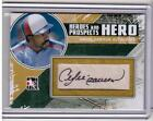 ANDRE DAWSON 2011 ITG Heroes Prospects Hero Hard-Signed Auto Autograph 80 SP