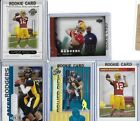 2005 Aaron Rodgers RC LOT 5 Rookies Upper Deck Topps Press Pass hit jersey Cal