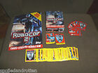 Topps Robocop 2 Trading Cards, Stickers, Mini Poster, Display Box, Wax Wrappers