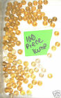 100 Piece LEGO Pearl Gold 1x1 Round Plate 6141 4SET 70810 10214 70751 10210 4842