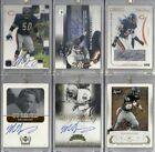 Mike Singletary Autograph lot of 6 Chicago Bears HOF auto lot 4 #'d