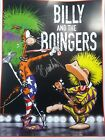 BILLY & THE BOINGERS POSTER SIGNED BERKELEY BREATHED BLOOM COUNTY