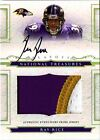 (#18 99) SP Rc Auto Jersey Patch Ray Rice 2008 National Rookie Signed Autograph