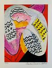 HENRI MATISSE THE DREAM Estate Signed  Stamped Limited Edition Small Giclee