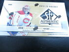 2012-13 UD SP AUTHENTIC HOCKEY HOBBY SEALED BOX