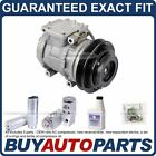 NEW GENUINE OEM AC COMPRESSOR  CLUTCH + A C REPAIR KIT FOR GEO  TOYOTA