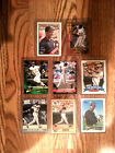 Barry Bonds Collectors Lot of Eight (8) Cards including Rookie