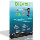 2x DISAGU ClearScreen screen protection film for Nokia 6790 Surge antibacterial