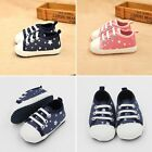 Newborn Baby Canvas Shoes Kids Toddler Baby Boys Girls Soft Sole Shoes Sneakers