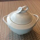 '' CLASSIC FLAIR ''-- by MIKASA --  SUGAR BOWL - W/WHITE EMBOSSED LILY