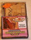 Two (2) Bar Mills HO Scale Exterior Covered Stairwells Building Kit - NEW