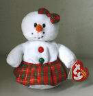 Ty Beanie Babies Collection Coolstina The Snow girl Plush Beanbag NWT