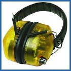 NEW SILVERLINE ELECTRONIC EAR DEFENDERS 659862 - REQUIRES X2 AA BATTERIES