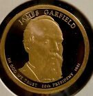 2011 S 1 James Garfield DC Proof Presidential Dollar