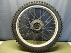 1982 Honda XL500R XL 500 OEM Front Wheel Tire and Rim 21 Inch - Spokes  B120