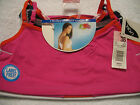 NWT Fruit of the Loom 3-Pack Strappy Racerback Sport Bras Size 36 Colors #90007