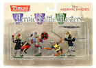 MIB Toy Soldiers TIMPO Painted Medieval Knights 1/32 Scale 4 Piece Set 43105-1