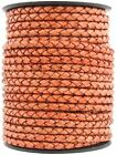 Xsotica Round Bolo Braided Leather Cord 5 Mm 1 Yard Flat Rate Shipping