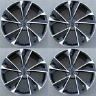 SET 4 20X9 5x112 WHEELS MACHINED BLACK AUDI A4 S4 A6 S6 RS4 A5 S5 A8 A7 ATLAS