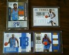 James Harden ROOKIE lot auto serial numbered jersey patch national treasures