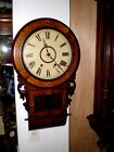Antique Jerome Anglo American Clock Co Wall Clock Ca1875 To Restore