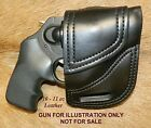 Gary Cs Avenger OWB XH Leather Holster for RUGER LCR LCRx 1 7 8 Barrel